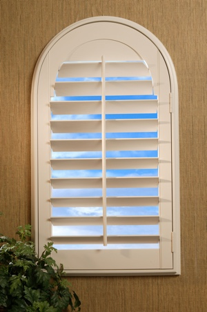 Louvered Arch Shutters