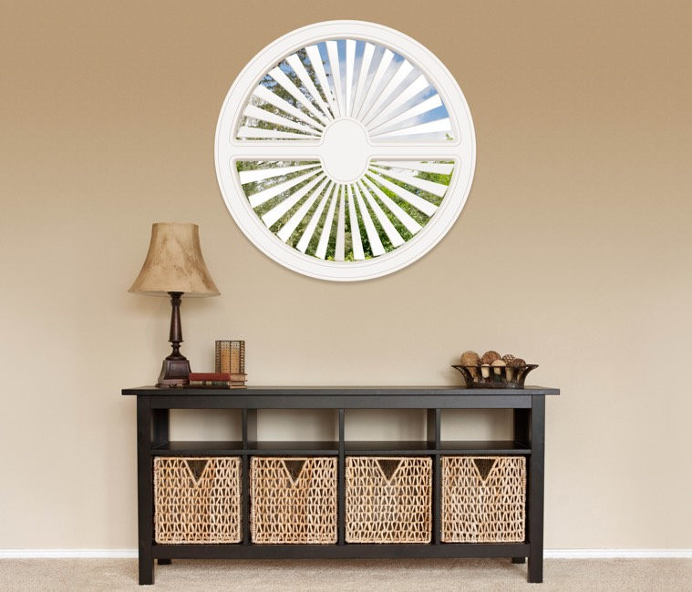 Circular Shutters in Indianapolis, IN