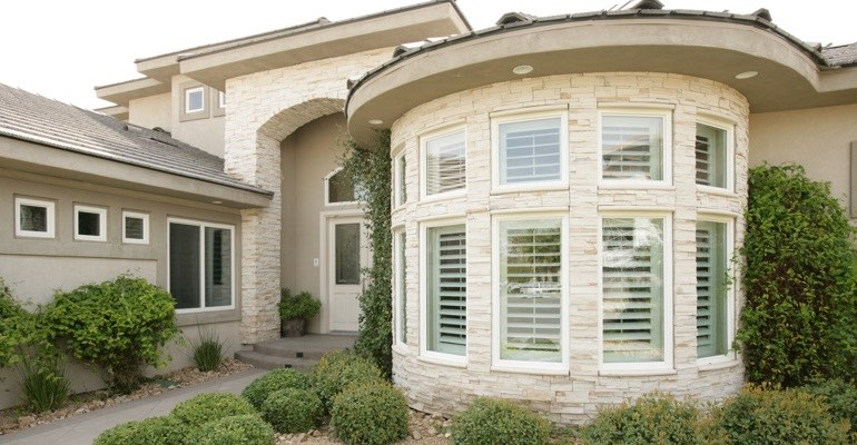 Indianapolis bay window shutter exterior