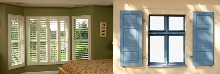 Indianapolis IN outdoor and indoor shutters