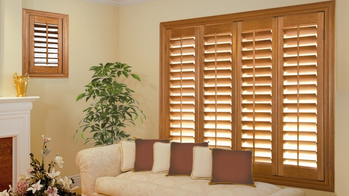 wood shutters Indianapolis sunroom