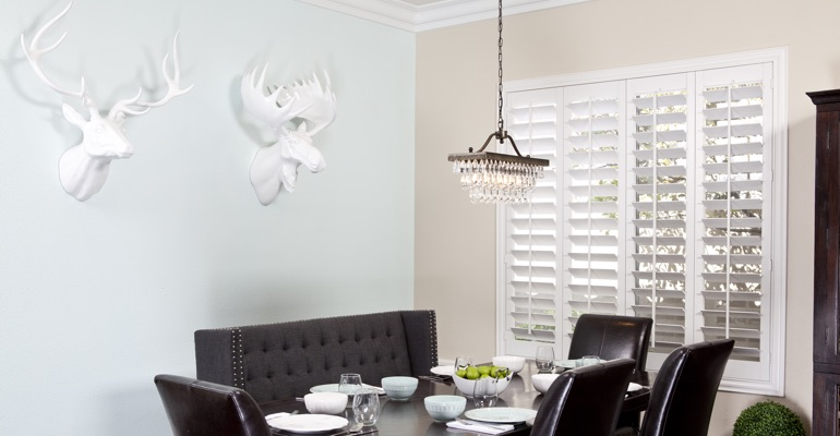 Indianapolis dining room shutters