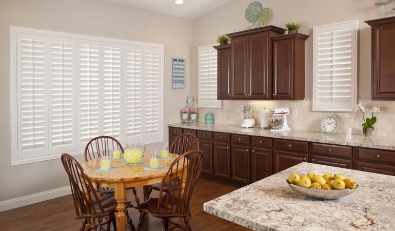 Polywood Shutters in Indianapolis kitchen