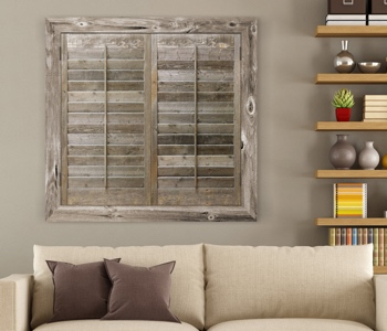 Reclaimed Wood Shutters Product In Indianapolis