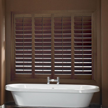 Chestnut Plantation Shutters Indianapolis