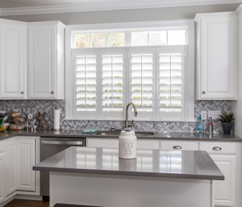 Shutters in Indianapolis kitchen