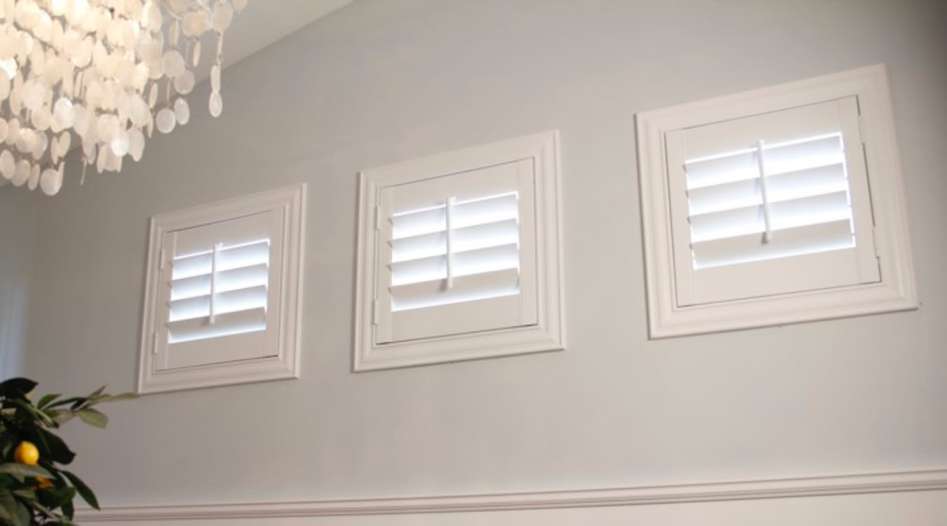 Indianapolis small window shutters