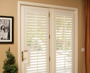 Indianapolis french door shutters