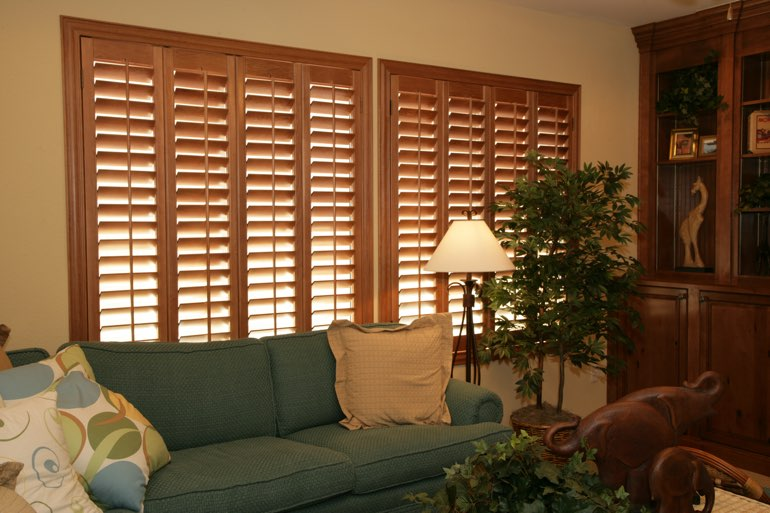 Ovation Shutters In A Indianapolis Living Room.