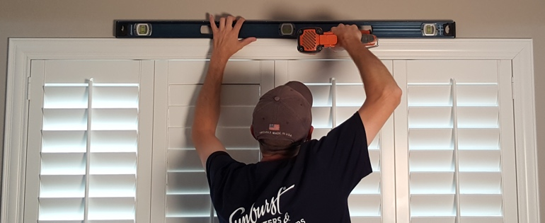 Indianapolis shutter installation window measure