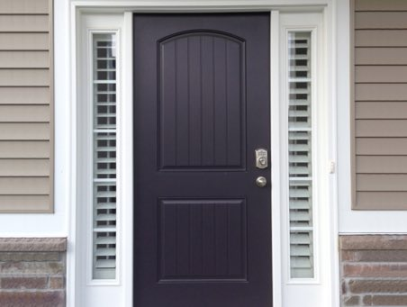 Indianapolis front door shutters