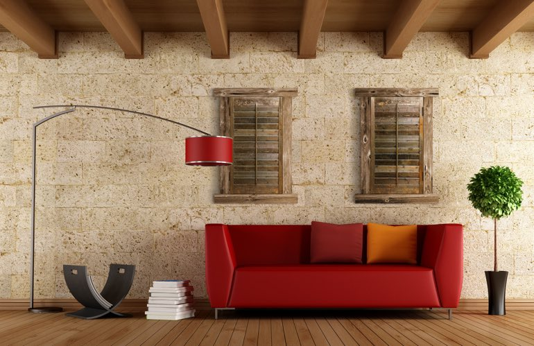 Hottest Trends In Window Treatments In Indianapolis: Reclaimed Wood Shutters