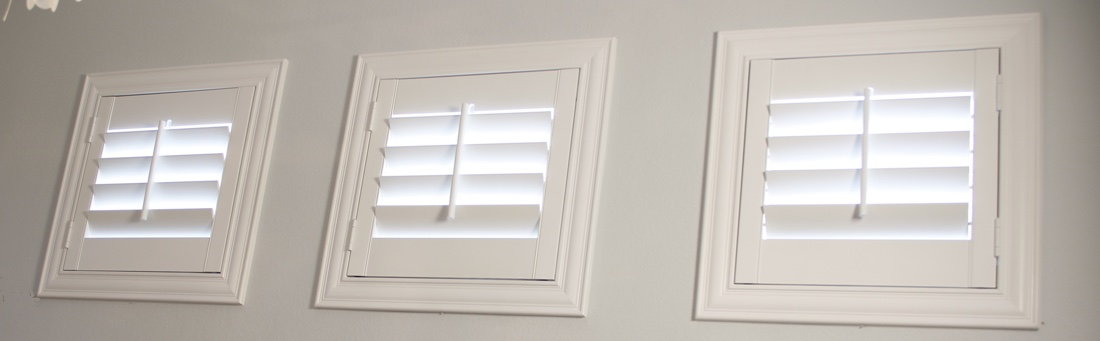 Indianapolis casement window shutter.